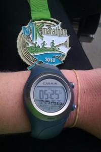 MK Marathon 2013 time