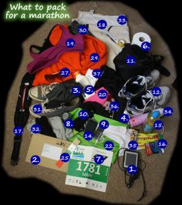 marathon packing