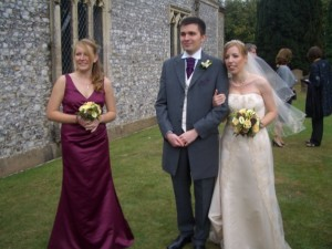 Hollie's wedding