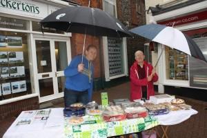 MacMillan Cake stall - Me and Mum