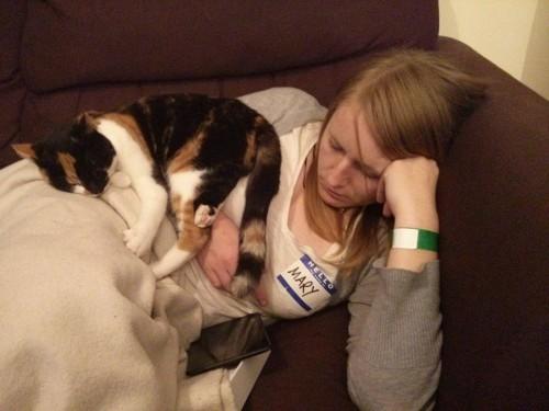 Sleeping with Bella