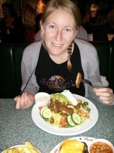 Buddies nacho salad