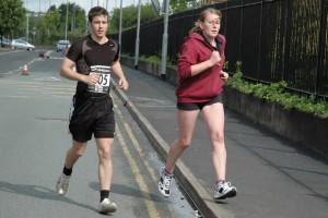 Dan and I Stoke 10k