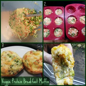 protein breakfast muffin