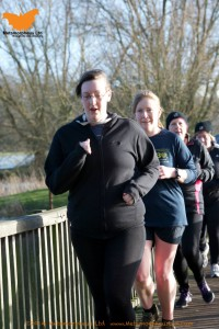 Vick and Me at Parkrun
