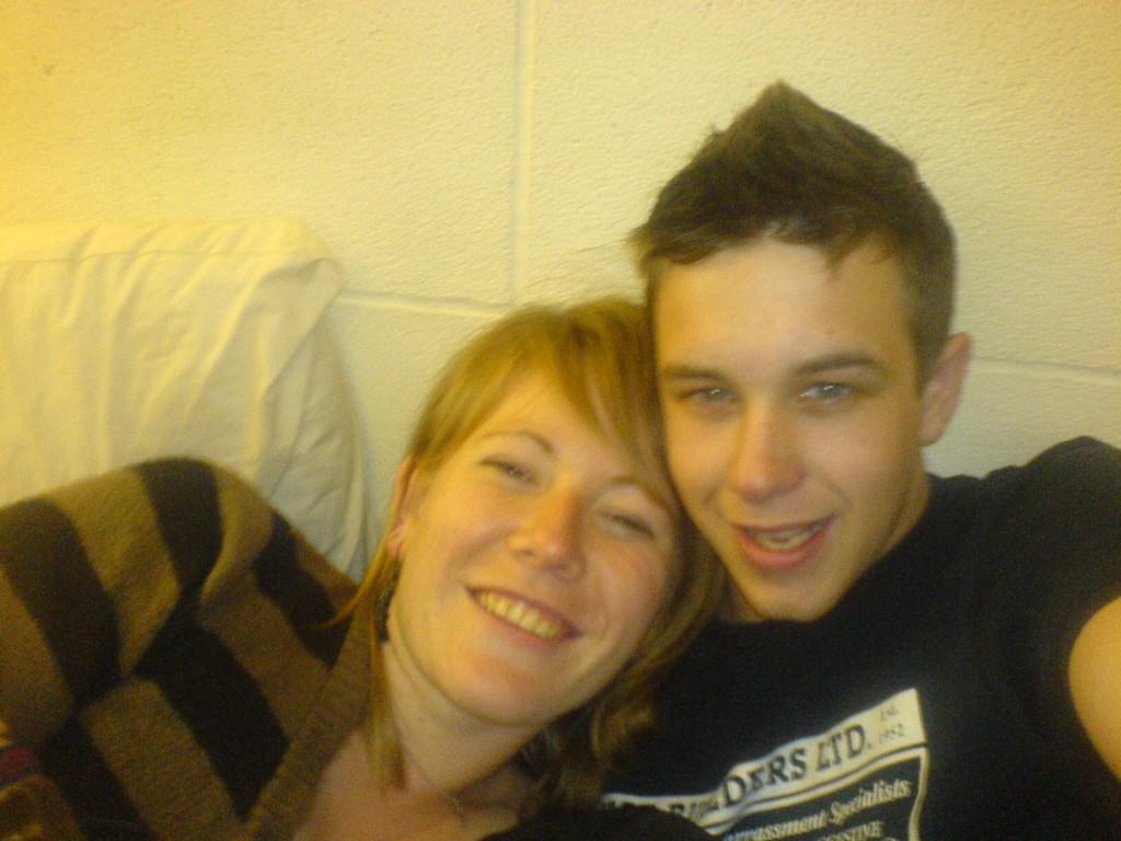 Dan and I 2007