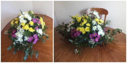 Mum's birthday flowers