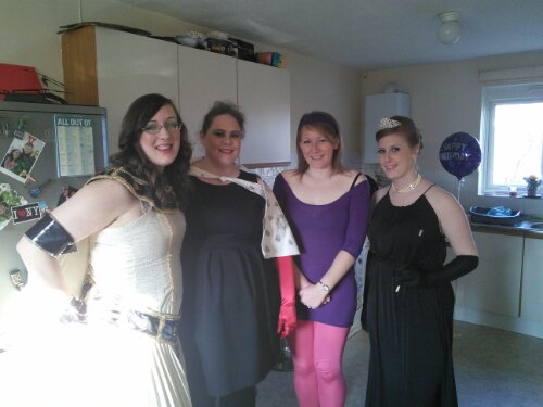 Vicki's 30th girls