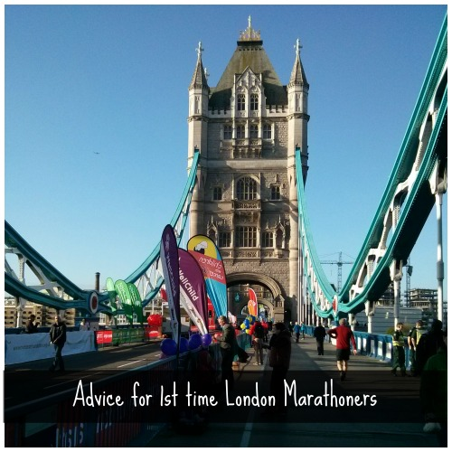1st time london marathoners