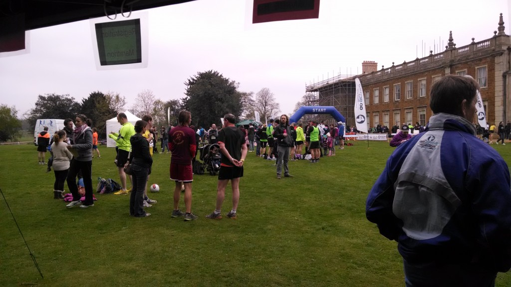 Northampton Running Festival race start