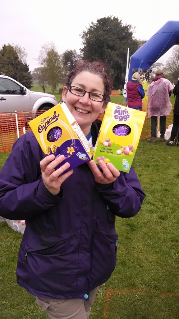 Northampton Running Festival Easter eggs