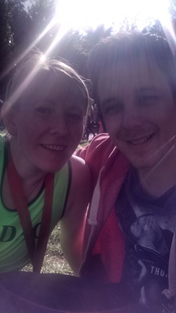 Dan and I finishers VLM