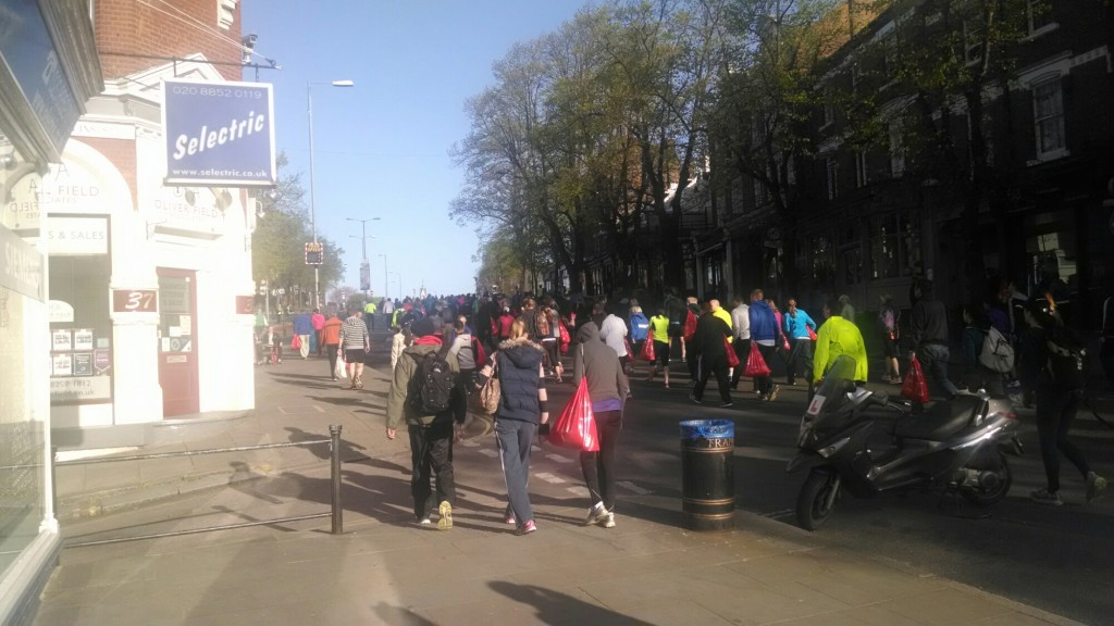 Heading to the blue start VLM