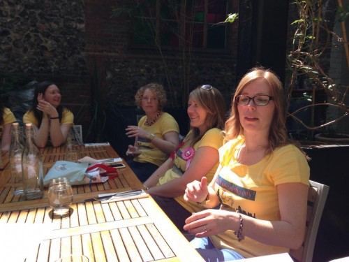 My hen do - Norwich