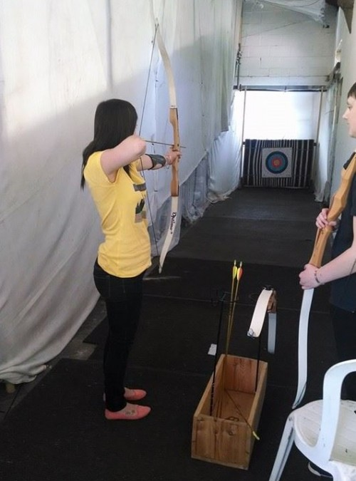 Hen do archery