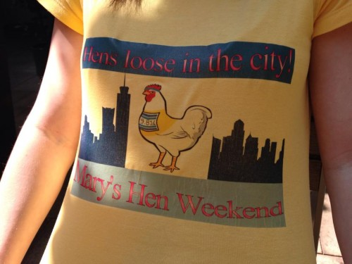Hen do t-shirt