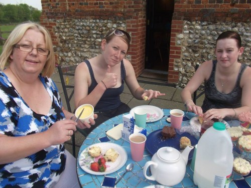 My hen do - Afternoon tea