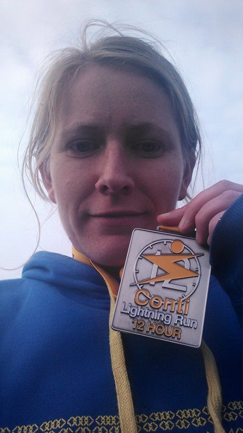 Conti Lightning Run medal 2014