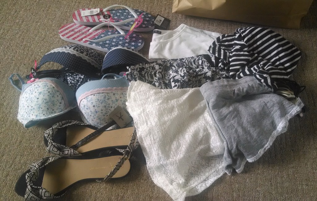 Clothes haul from Primark