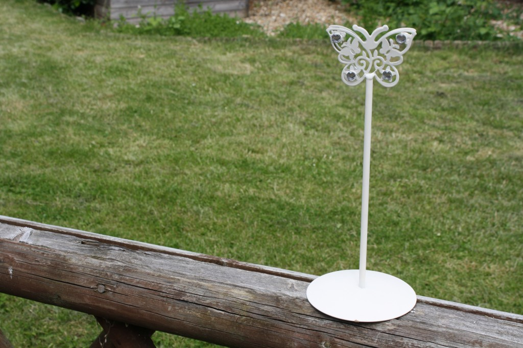 Butterfly wedding table number holders