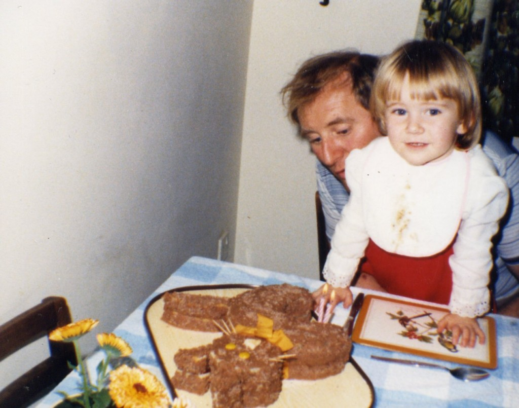 My second birthday with Dad