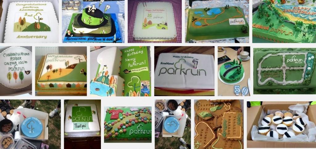 parkrun cakes