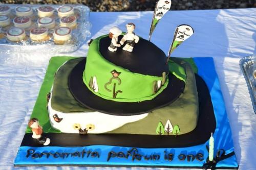 Parramatta parkrun cake