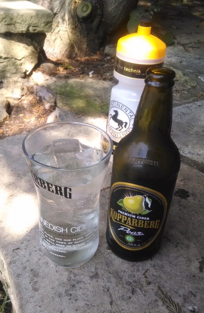 Kopparberg cider mid run