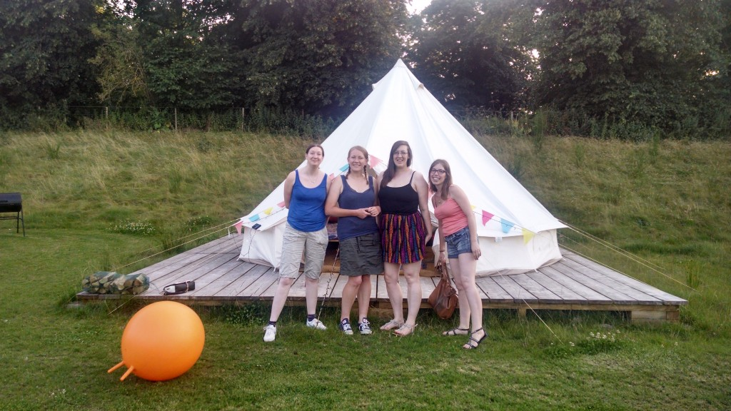 Glamping in Whitlingham