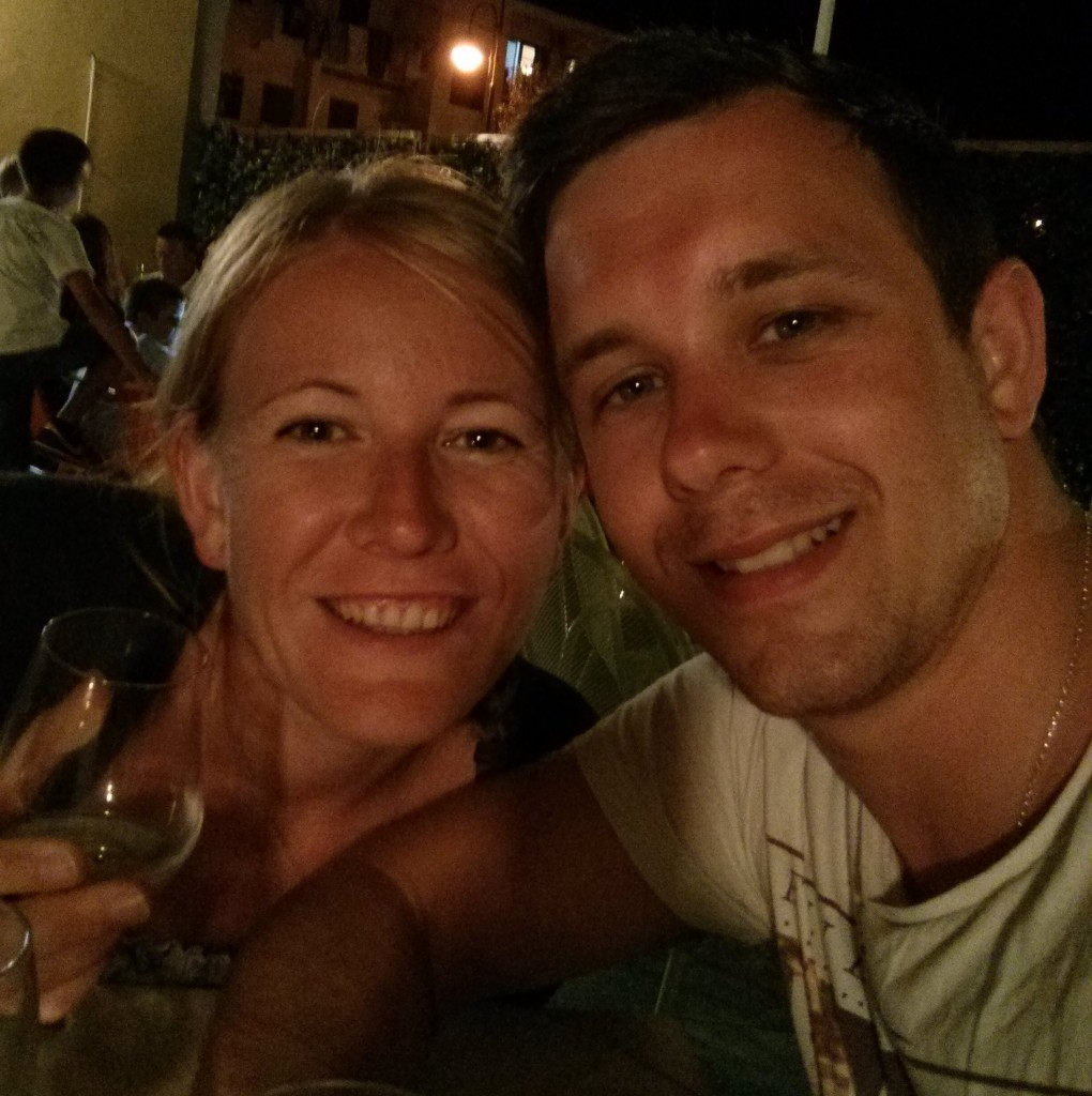 Wine in South Italy on honeymoon