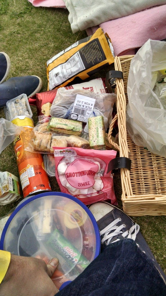 Picnic for Indiana Jones and the Raiders of the Lost Ark at Stanwick Lakes
