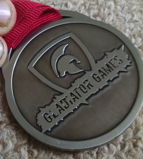 The Gladiator Games - Medal