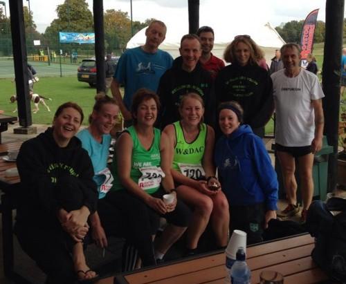 WDAC runners at Royston half marathon
