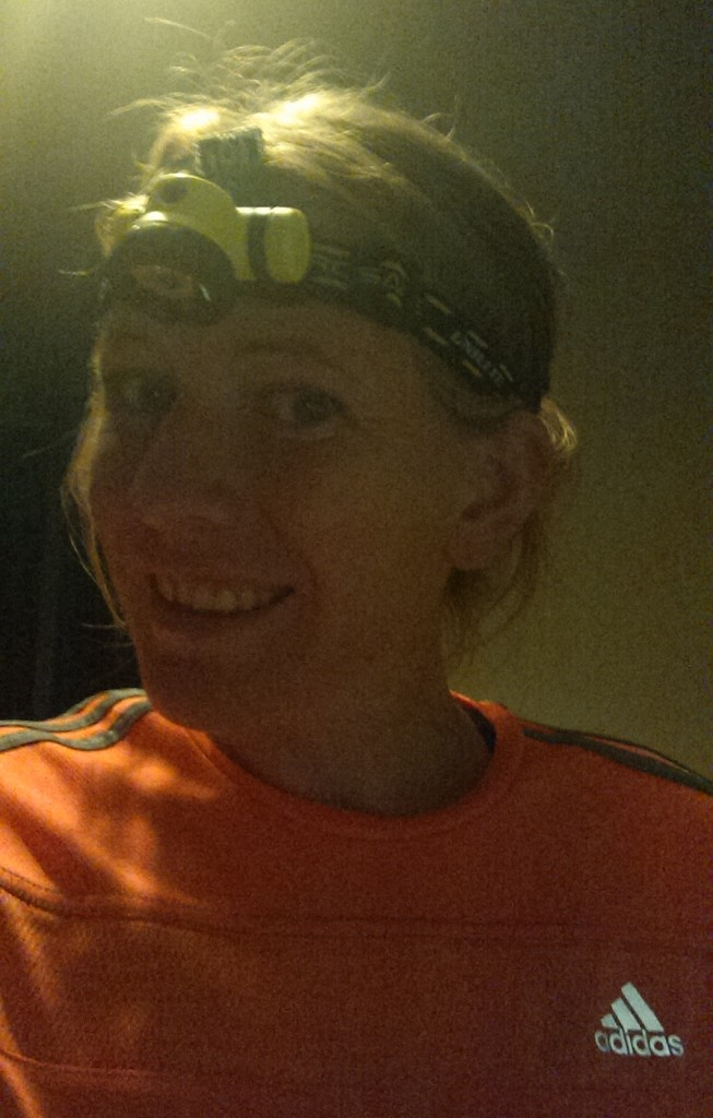 First night out in a headtorch