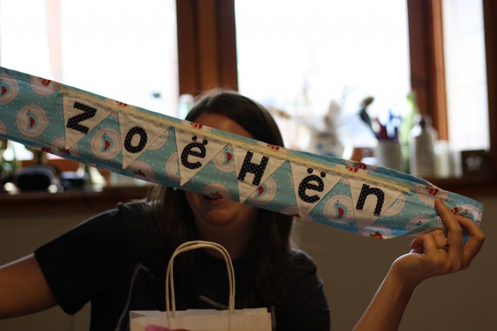 Zoe's hen do banner
