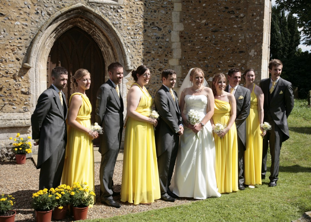 Our bridal party