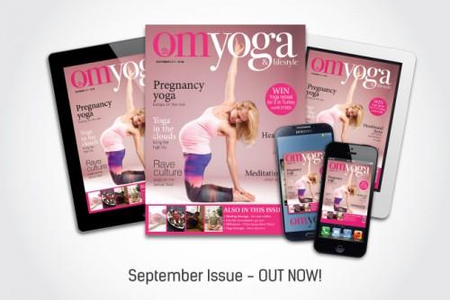 September OM Yoga magazine