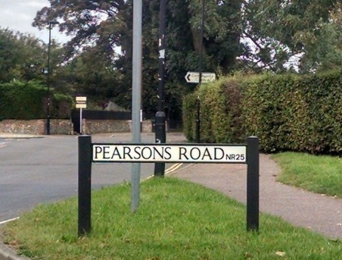 Pearsons road