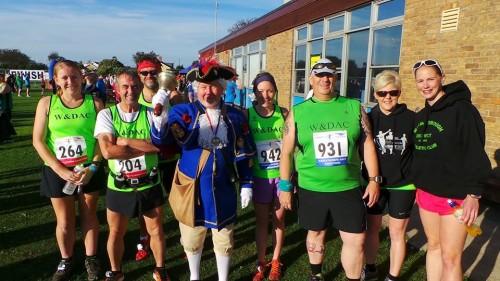 Mablethorpe marathon WDAC runners