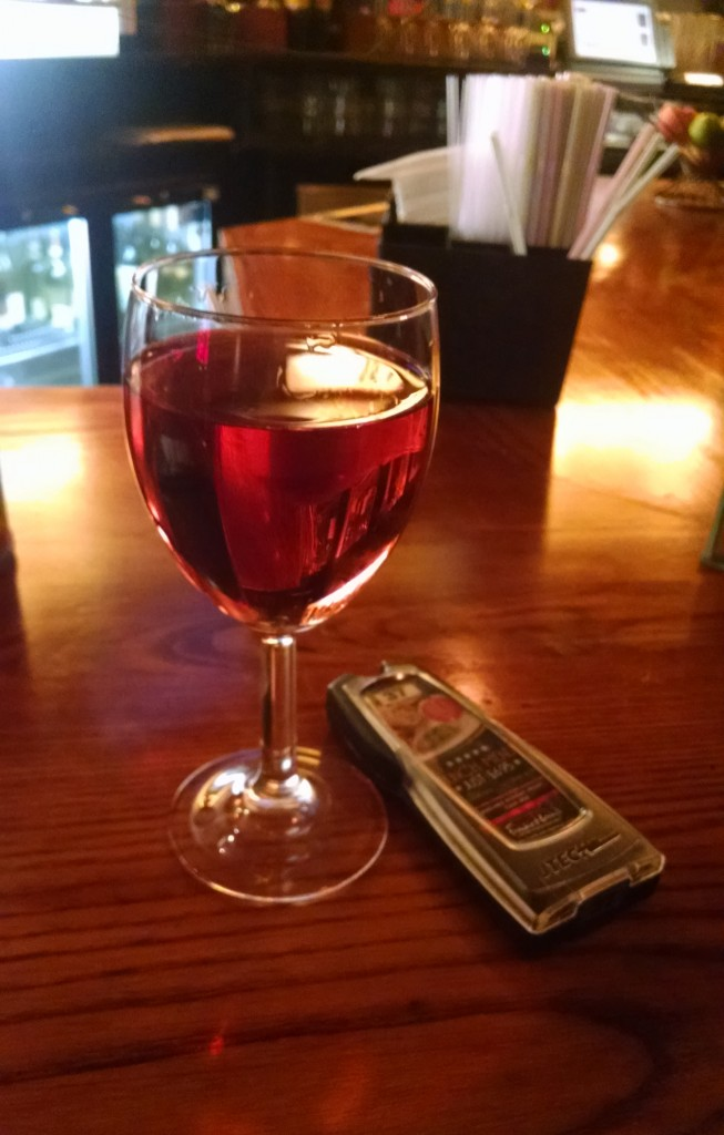 Wine at Frankie and Benny's