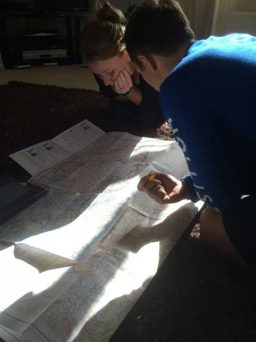 Mapping out the Dusk 'til Dawn course