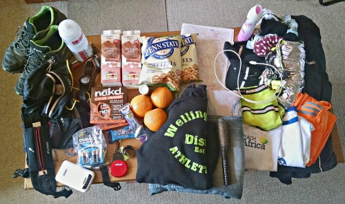 Kit for Dusk 'til Dawn 50mile ultramarathon