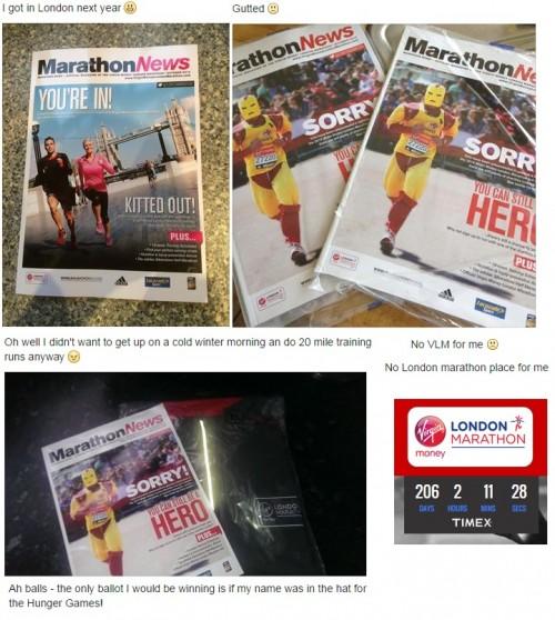 Virgin Money London Marathon on social media