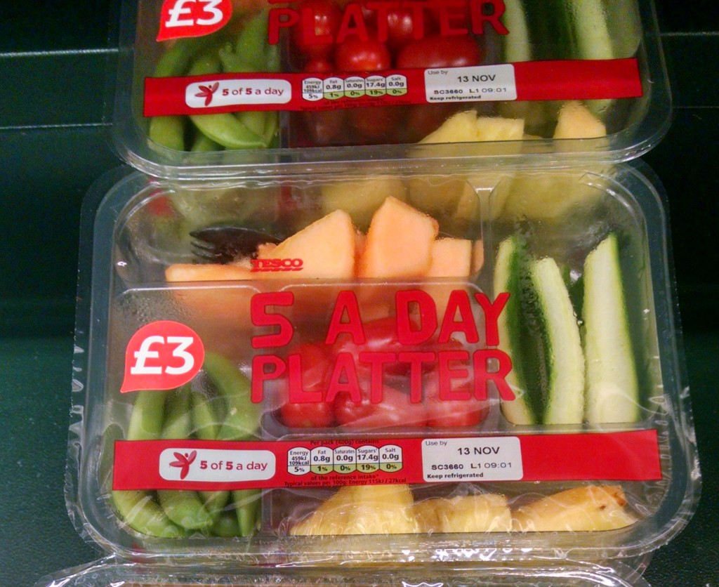 5 a day platter from Tesco