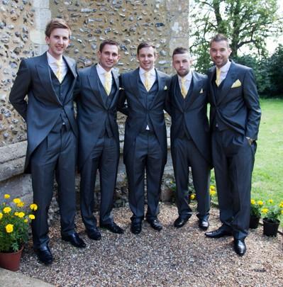 The Groomsmen suits