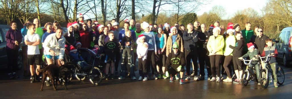 Christmas Eve club run