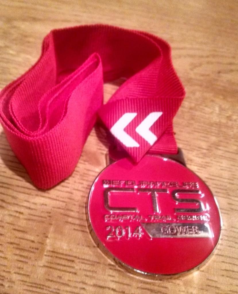 Gower marathon CTS medal