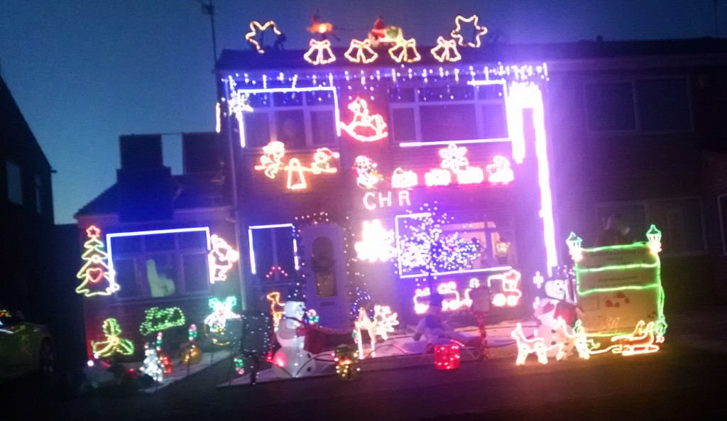Torrington road, Wellingborough Christmas lights
