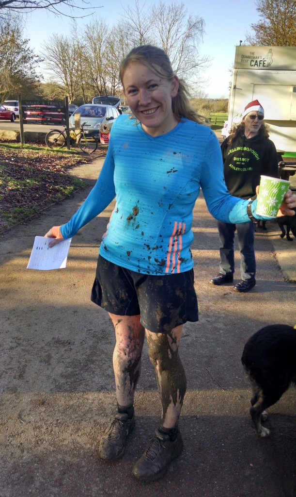Mud and mayhem on the Christmas Eve run