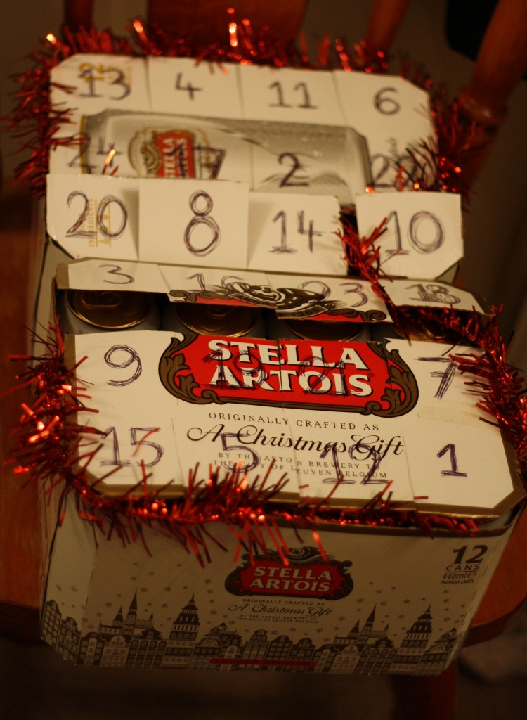 Christmas beer advent calendar